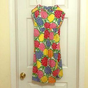 EUC Lilly Pulitzer Wyatt strapless dress, size 12